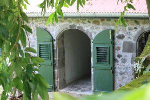 Martinique, Maison, Coloniale, Caraïbes, Fenêtre, Porte